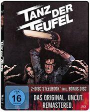 Steelbook - Evil Dead TANZ DER TEUFEL Uncut TEIL 1 Futurepak BLU-RAY Metalpak