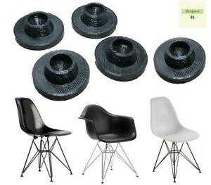 Eames Eiffel Chair Glides 5 Pack EasyGlide Herman Miller - One Size fits All