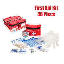 First Aid Kit 38 Piece Emergency Car Bike Home Camping Office Travel Waterproof