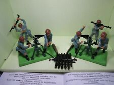 BRITAINS TASKFORCE MORTAR LOADING CREW AND ACTION FIGURES  # REF 7605