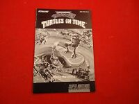 Teenage Mutant Ninja Turtles IV in Time SNES Instruction Manual Booklet ONLY