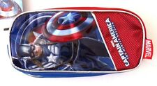 Exclusive Marvel Captain America Pencil Case NWT FREE SHIPPING
