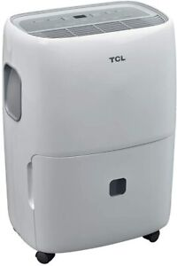 TCL 20 Pint Dehumidifier with Auto Defrost & 24-Hour Timer