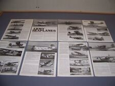 VINTAGE..ARMY SEAPLANES (PART-2)....HISTORY/PHOTOS/VARIANTS...RARE! (316P)