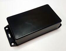 Hammond Black Plastic Enclosure With Flanged Lid Ip54 ABS 1591BSFLBK 112x30x66mm