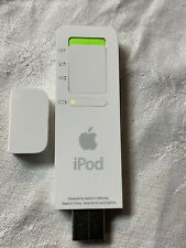 Loaded With Music - Apple iPod Shuffle 1st Generation 512MB White A1112 - USED