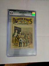 CGC 9.0 Durhan Whiffs V1 #1 comic trading card Blackwells Victorian Age
