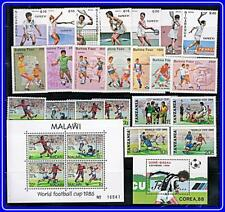 collection FOOTBALL CUP x 4 sets + 2 s/s MNH SOCCER, SPORTS, TENNIS