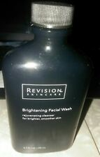 Revision Skincare Brightening Facial Wash, 6.7 Fl Oz- Open Bottle