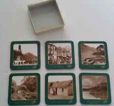 BRAND NEW IN BOX SET OF 6 IRISH SCENIC COASTERS by FRITTE COLLECTION,