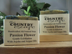 Passion Flower Soap- Handcrafted - Organic - Vegan - Natural - Homemade
