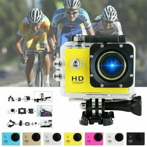 HD 1080P Action/Sport/Waterproof/Go Pro Camera Recorder Helmet Remote Kits
