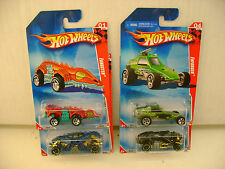 COMPLETE SET OF 4 HOT WHEELS RACE WORLD UNDERGROUND '10 CARS NEW MOC'S