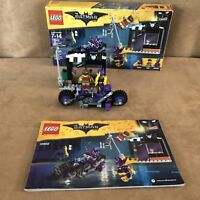 70902 LEGO Complete The Batman Movie Catwoman Catcycle Chase minifigures box