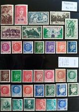 TIMBRES de FRANCE Neufs** n° 499...552 .. années 1941 - 1942 Nov 01-12