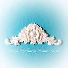 1x Shabby Chic Furniture Appliques Mouldings Onlays Furniture Carving