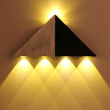 5W LED Triangle Wall Light Lamp Restroom Bedroom Wall Sconce Lamp Warm White