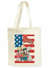 FUNNY American Dad POSTER Cool Shopping Tela Tote Bag Ideale Regalo
