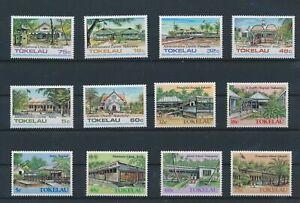 LN75309 Tokelau churches buildings fine lot MNH