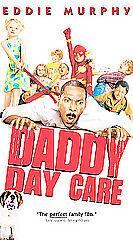 Daddy Day Care VHS 2003 Eddie Murphy Jeff Garlin Anjelica Huston Color PG