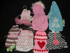 7 GORGEOUS GIRLIE DOG CLOTHES Size SMALL BNWT