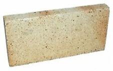 "1"" inch Clay Fire bricks cooker pizza oven firebricks BBQ heat set of 3"