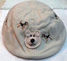 NEW NEWSBOY GOLF CABBIE CAP HAT 3 6 12 18 MONTHS BOYS BABY INFANT TODDLER BEIGE