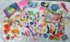 Vintage    Barbie Doll Accessories      100+ Lot       Dishes,Mixers,Phone ETC..