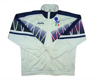 Italy 1994 Authentic Tracksuit Top (Excellent) L Soccer Jersey