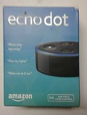 Amazon Echo Dot 2nd Generation Brand New Voice Enabled Smart Assistant Black