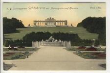 AK Wien XIII, Schönbrunn, Neptungrotte u. Gloriette 1911