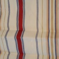 2 RALPH LAUREN Multi STRIPED EURO SHAMS with buttons NEW
