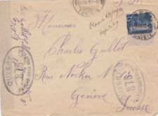 Used WWI Cover European Stamps