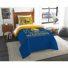 Twin Size Comforter Set Bedding NBA Golden State Warriors Reverse Slam 2 Piece