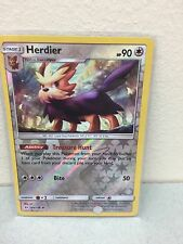 Pokemon Single Cards - Sun and Moon Base Set - 104/149 Herdier Reverse Holo