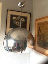 Fab Retro Style Mirrored Chrome Bud Ceiling Light-Guzzini/Eames Style #3527