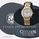 Authentic Citizen Eco-Drive Ladies Ciena Rose Gold Watch EM0093-59A