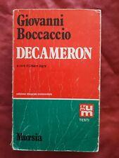 Libro Decameron Boccaccio Cesare Segre Ed Mursia #TO1