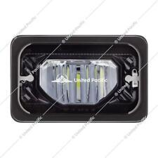 2pcs 4x6'' Led black Headlight Sealed low Beam Peterbilt 379 Kenworth W900 34133