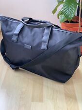 JIMMY CHOO MENS Designer Black Weekend GYM BAG Men's  New Sealed !!'