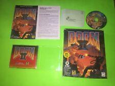 Doom II 2 PC DOS CD ROM BIG BOX RARE VERY GOOD TESTED 100% COMPLETE CIB