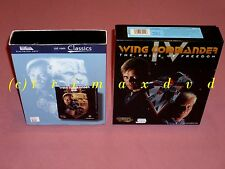 2xPC _Wing Commander III (3) Heart of the Tiger & WC IV (4) The Price Of Freedom