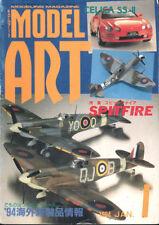 MODEL ART 1/94 WW2 GERMAN A-4 MISSILE V-2_SPITFIRE_P-51D_JEEP GRAND CHEROKEE