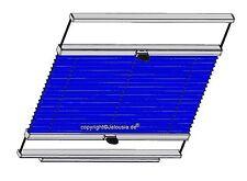 PLISSEE JBS Spezial Verdunkelung mit Thermoschutz für Braas Atelier Dachfenster