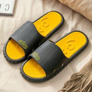 Women Summer Slippers Flip Flops Couples Home Non-slip Men Flat Shoes Sandals