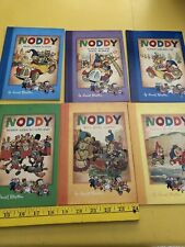 NODDY book lot 6 PBs Enid Blyton Noddy & His Car Seaside Goes to toyland MORE