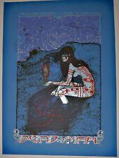 Dead Man - 2009 Roadburn Festival Silkscreen Concert Poster by Malleus
