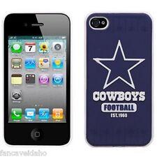 NFL Dallas Cowboys Retro Vintage Est 1960 iPhone 4 4s Hard Cover Snap On Case