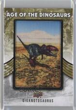2015 Upper Deck Dinosaurs Age of the Extinct (Predator) Giganotosaurus Patch n7r