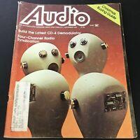 VTG Audio Music Magazine November 1976 - Four-Radio Channel Radio Syndication